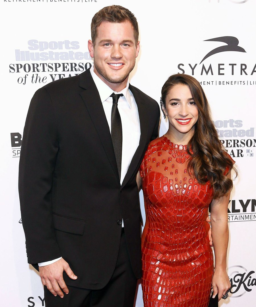 Colton Underwood and Aly Raisman at Sports Illustrated Sportsperson Of The Year Award Revelations From Colton Underwoods Book