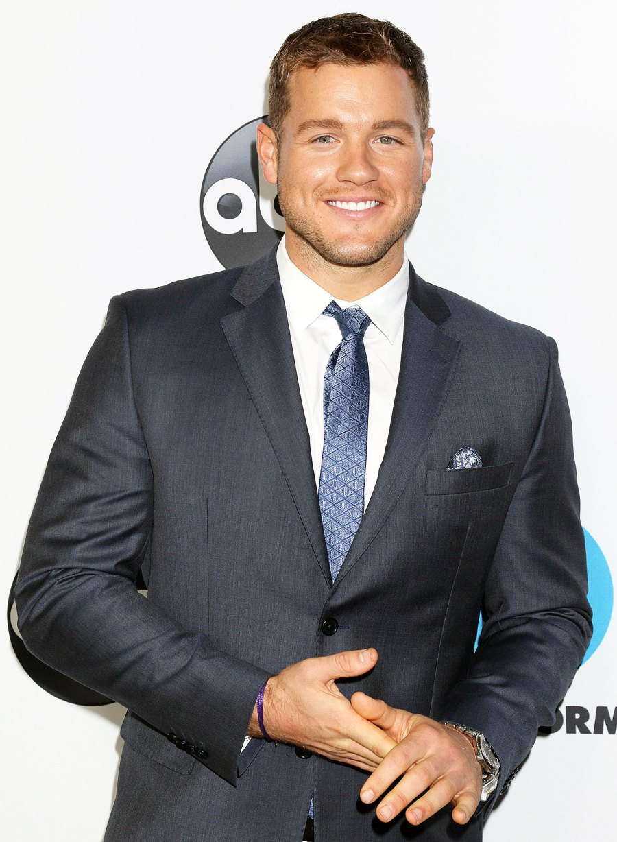 Colton Underwood at Disney ABC photocall Revelations From Colton Underwoods Book