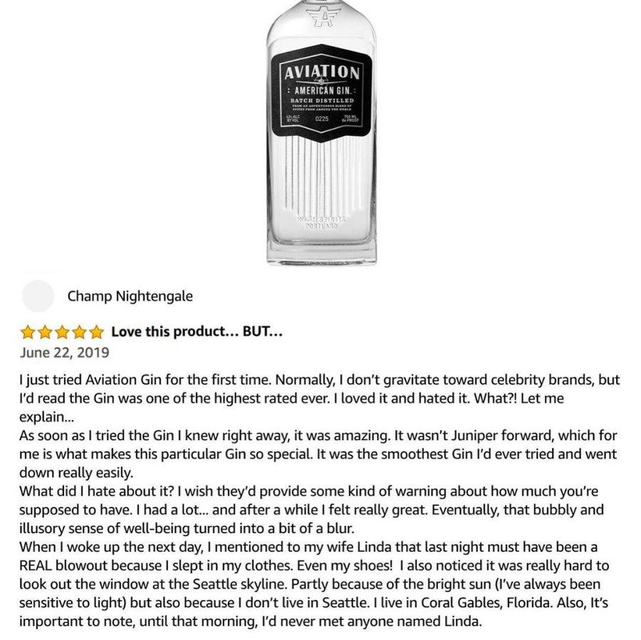 Ryan Reynolds Funniest Aviation Gin Gimmicks