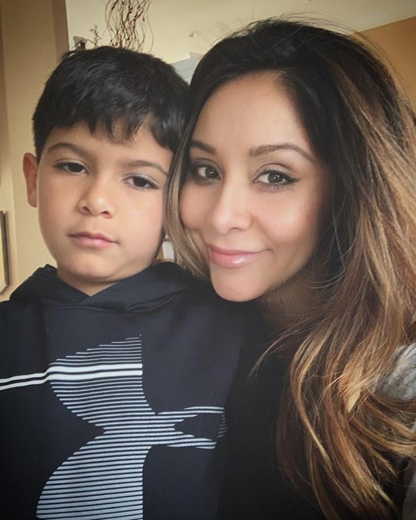 Nicole Snooki Polizzi Celeb Parents Homeschooling Their Kids During Coronavirus Spread