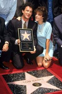 1992 Walk of Fame Tom Hanks and Rita Wilson Relationship Timeline