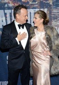 2015 Breast Cancer Tom Hanks and Rita Wilson Relationship Timeline