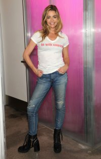 Denise Richards White Tee Jeans March 17, 2020