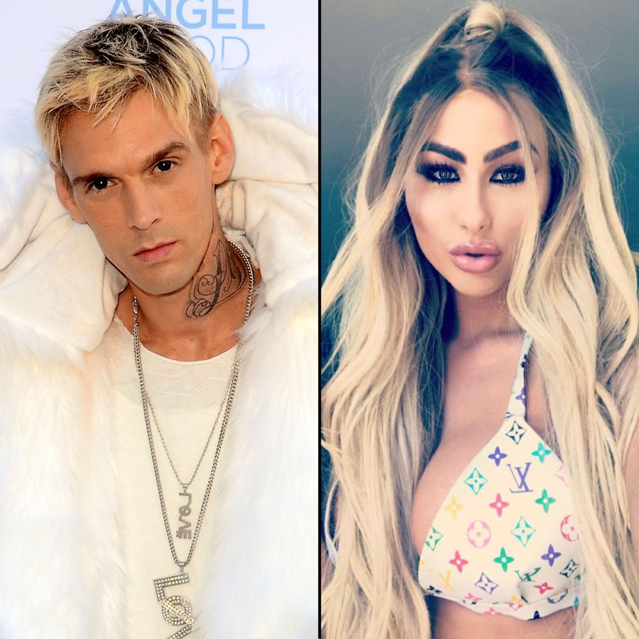 Aaron Carter and Girlfriend Melanie Martin Split