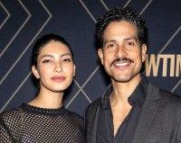 Adam Rodriguez and Grace Gail Unique Celeb Baby Names Bridgemont Bernard Rodriguez