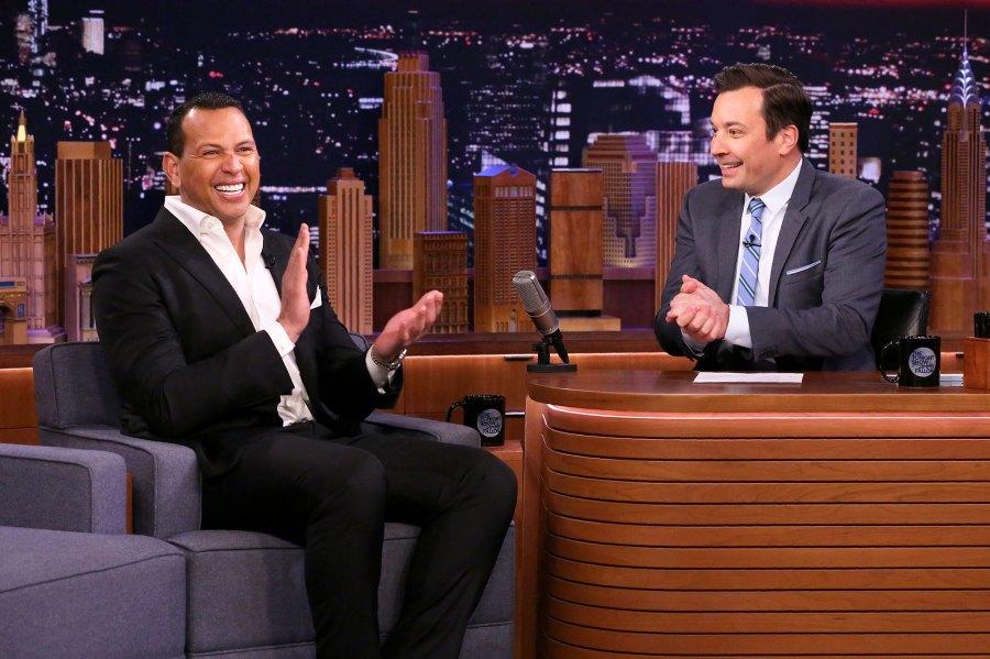 Alex Rodriguez and Jimmy Fallon Tonight Show