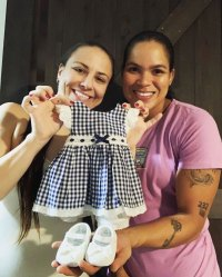 Amanda Nunes and Nina Ansaroff Pregnancy Announcement