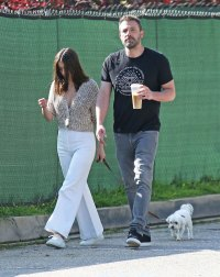 Ben Affleck Steps Out With Ana de Armas and Her Dog in L.A.