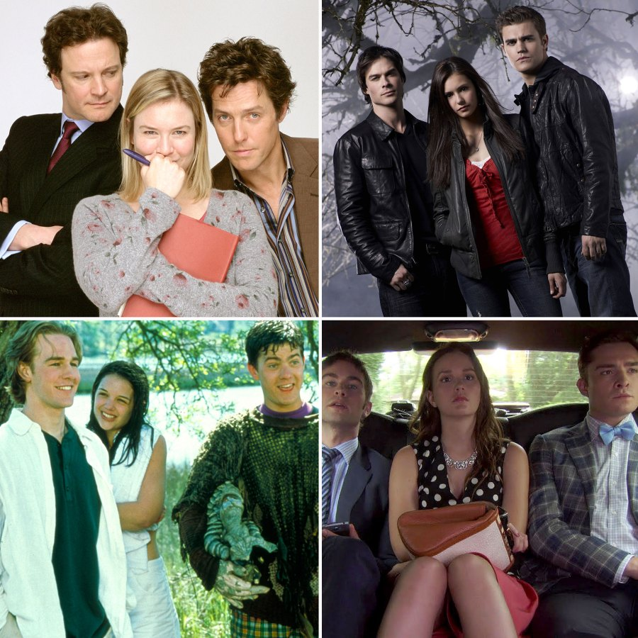 The Best Love Triangles TV Movie History