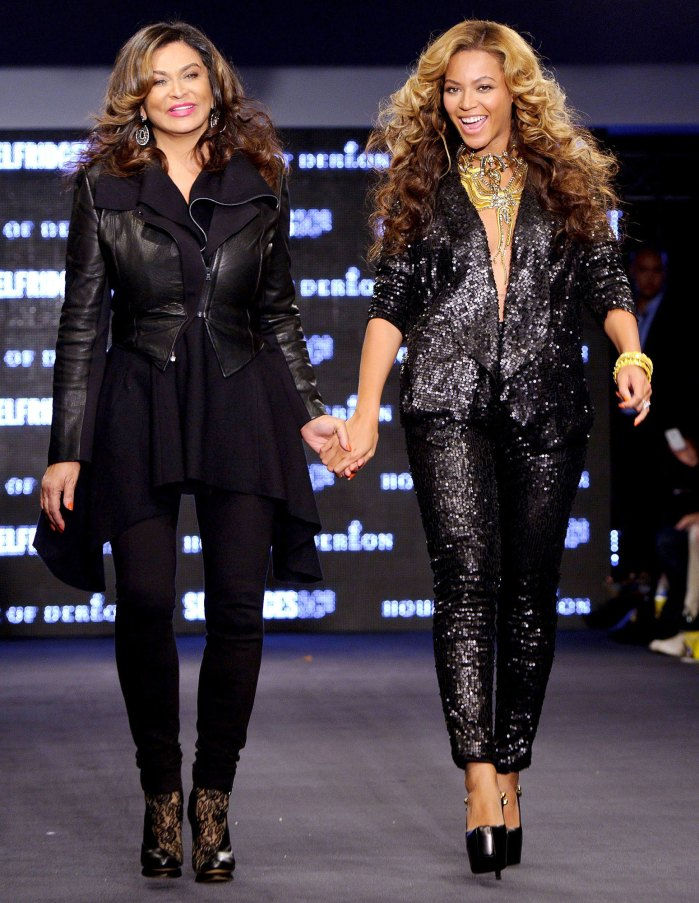 Beyonce Mom Tina Knowles Responds to Troll Dissing Her Corny Joke