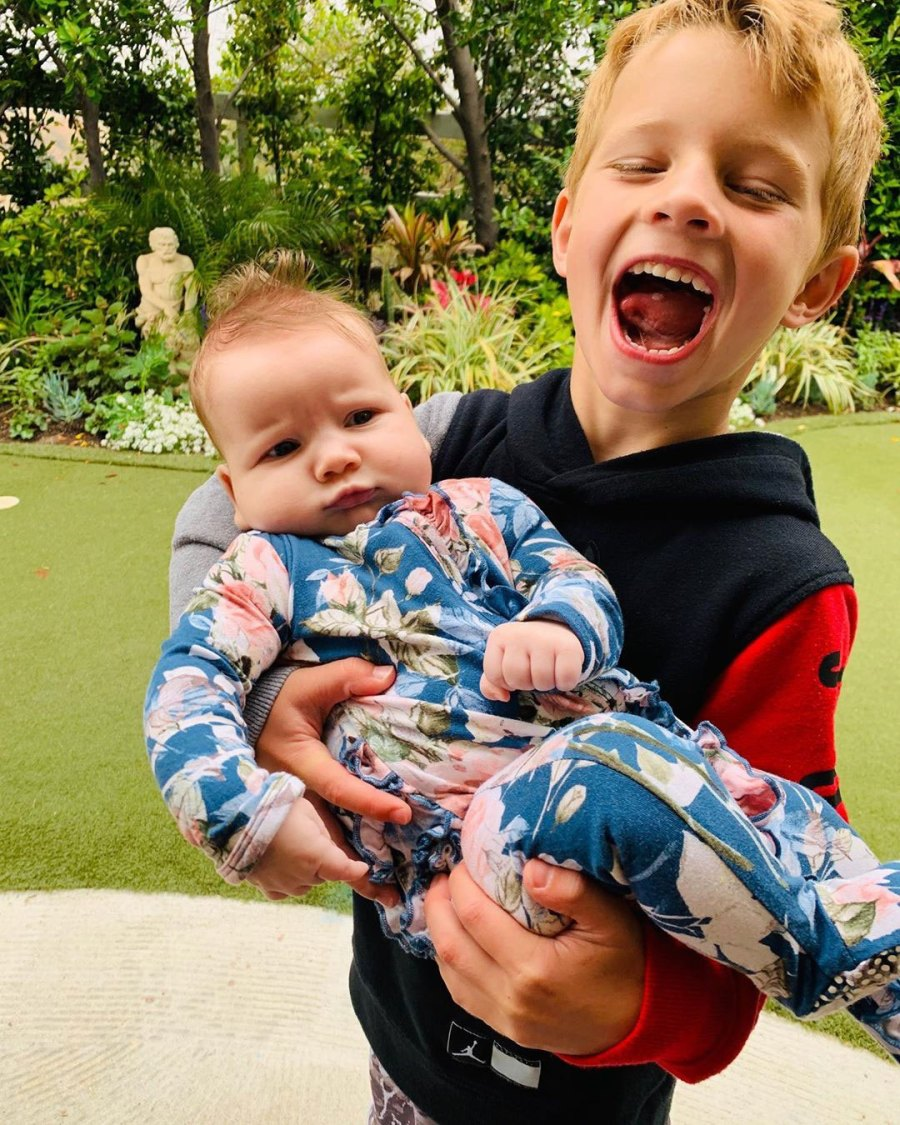 Big Bro Jessica Simpson and Eric Johnson Daughter Birdie Cutest Pics