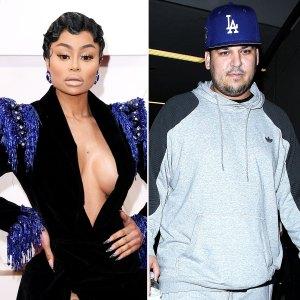 Blac Chyna Claims Rob Kardashian Afraid to Leave the House