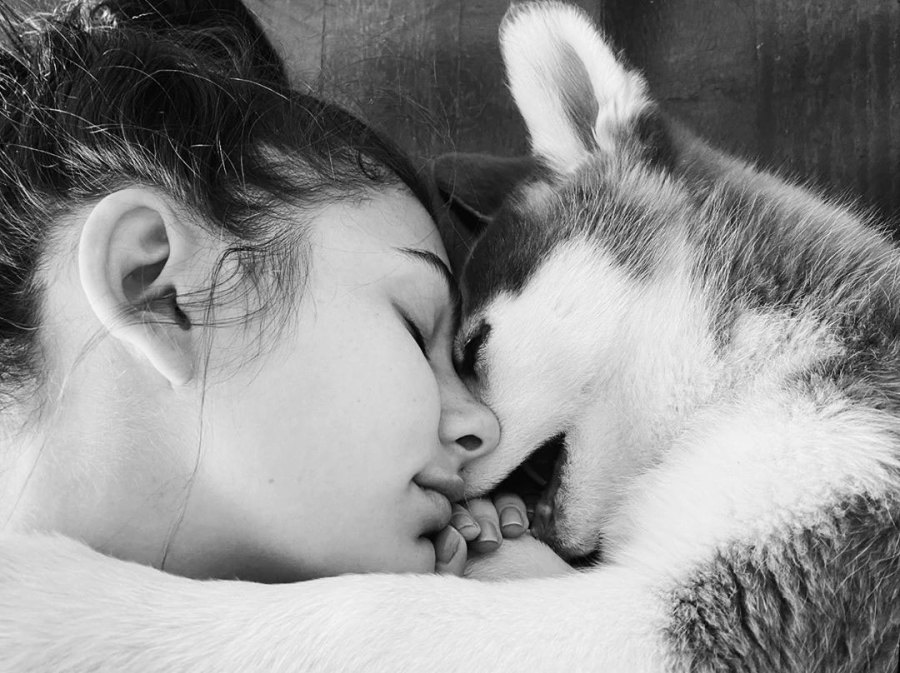 Camila Morrone Fostering a Dog During Her Quarantine