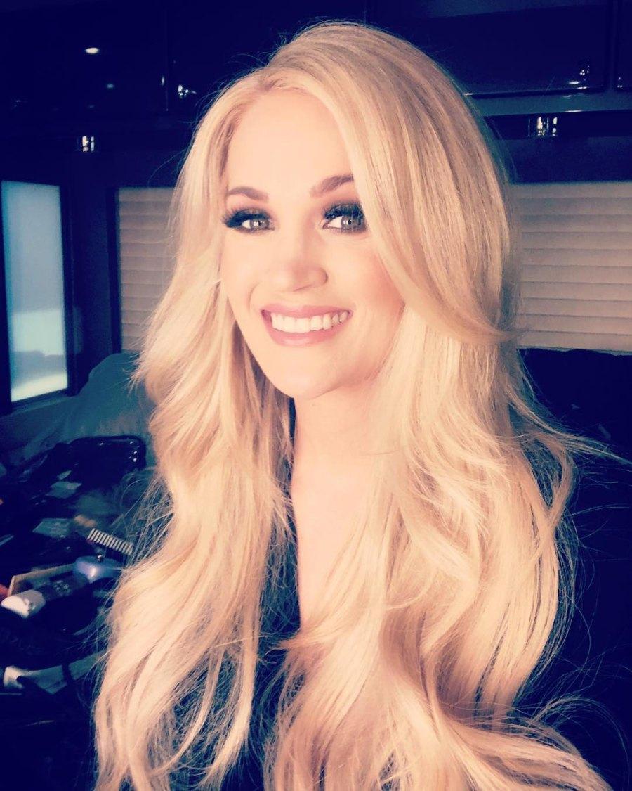 Carrie Underwood Instagram Celebrity Moms Pumping Breast Milk