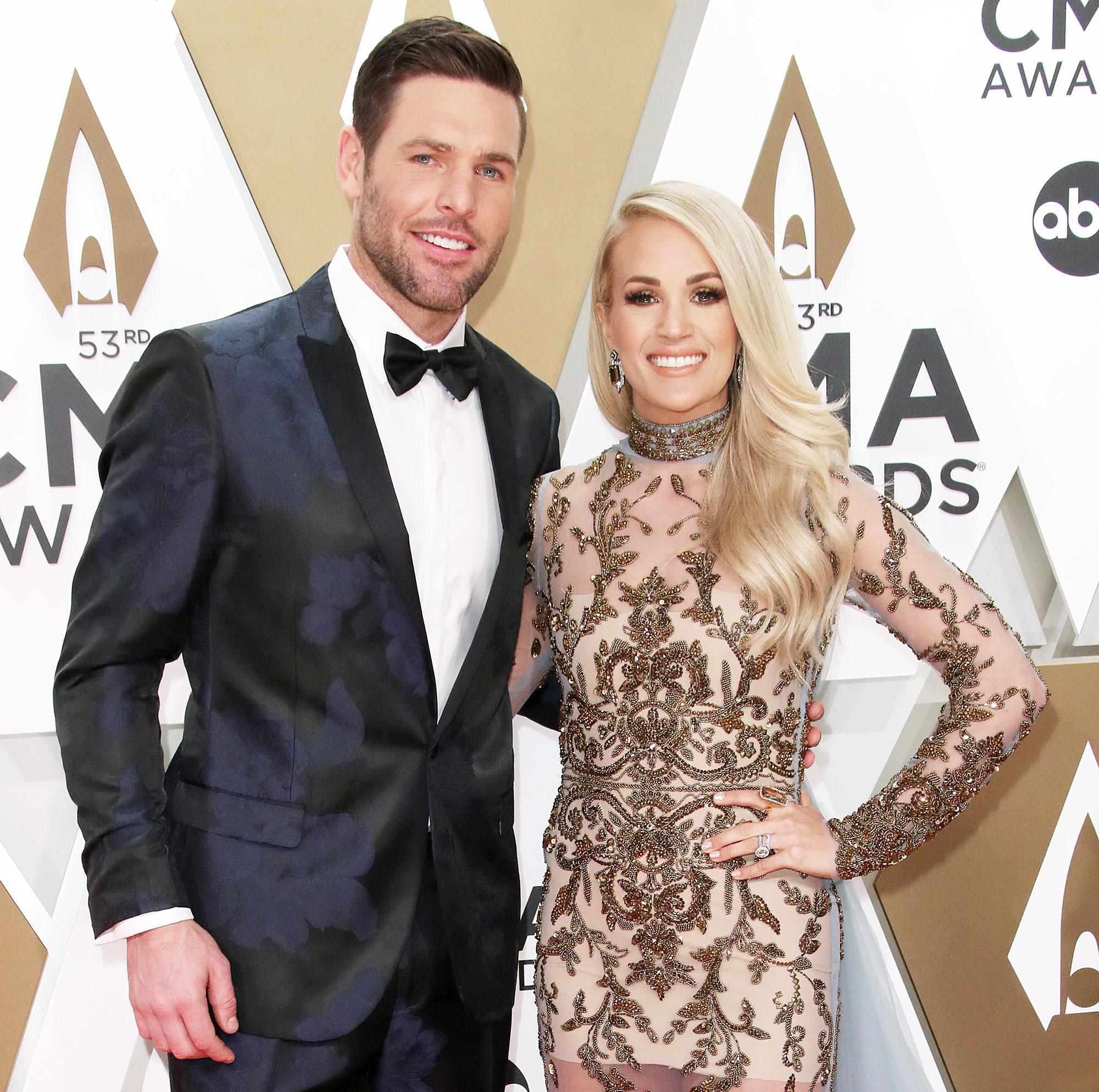 Carrie Underwood's Husband Mike Fisher Took Sons Into Safe Room During Nashville Tornado