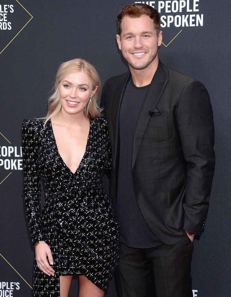 Cassie Randolph and Colton Underwood 45th Annual Peoples Choice Awards Gives Health Update Amid Coronavirus