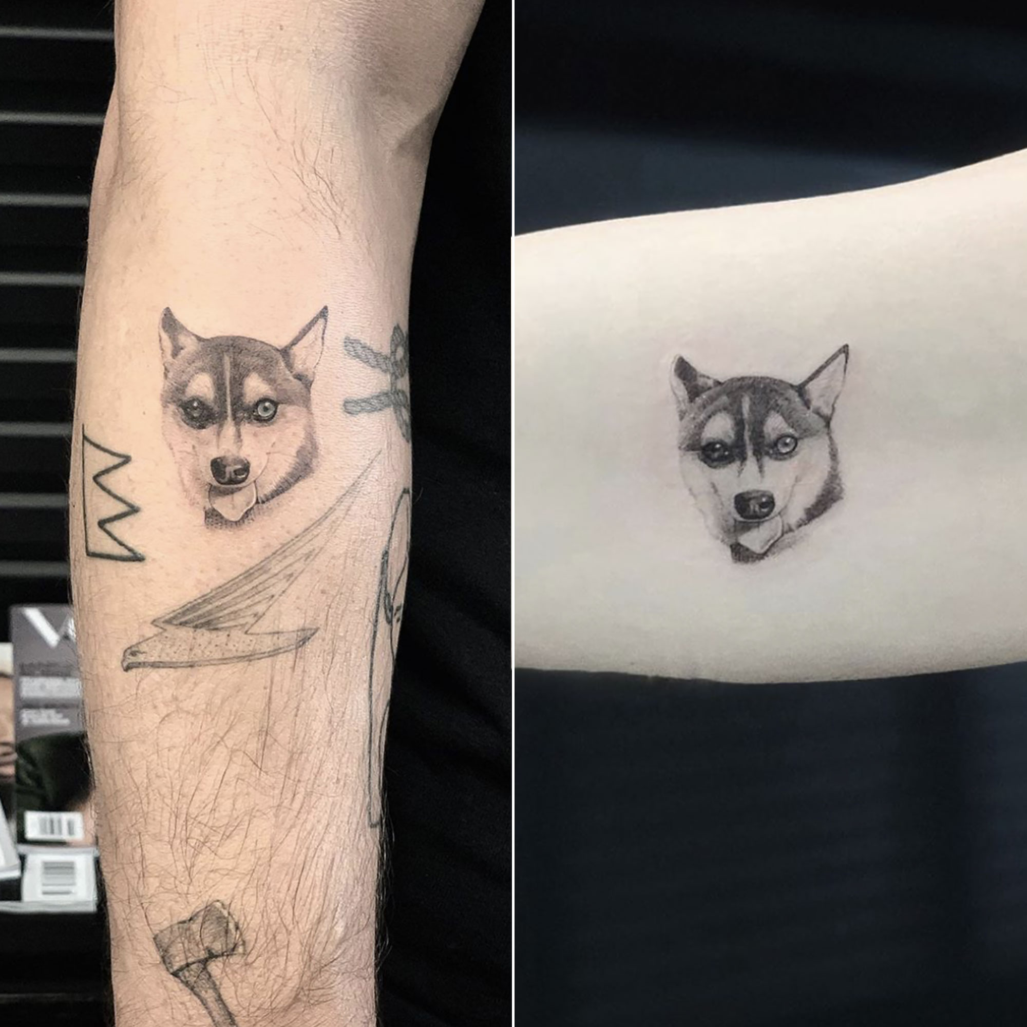 Celebrity Couples And Exes With Matching Tattoos Pics