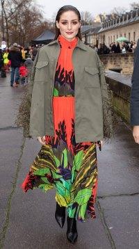 Celebs at Paris Fashion Week - Olivia Palermo