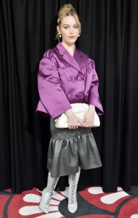 Celebs at Paris Fashion Week - Victoria Pedretti