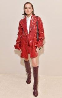 Celebs at Paris Fashion Week - Zoey Deutch