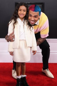Chris Brown Dissed By 50 Cent For His Rainbow Hair