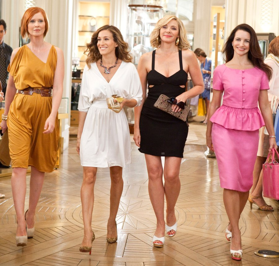 Cynthia Nixon, Sarah Jessica Parker, Kim Cattrall, Kristin Davis Jason Lewis Plays Coy When Discussing Whether Sex and The City Cast Will Be at His Wedding