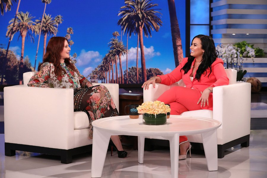 Demi Lovato and Megan Mullally Reveal Who They Want to Win Bachelor Ellen Show