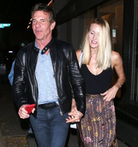 Dennis Quaid and Fiancee Are 'Hunkered Down' After Postponing Their Wedding