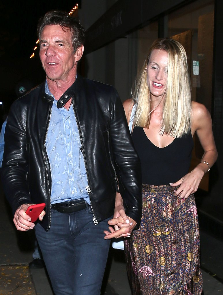 Dennis Quaid and Fiancee Laura Savoie Are Postponing Wedding Over Travel Issues