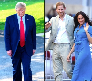 Donald Trump Says the U.S. 'Will Not Pay' for Prince Harry and Meghan Markle's Security Detail Following Move to L.A.