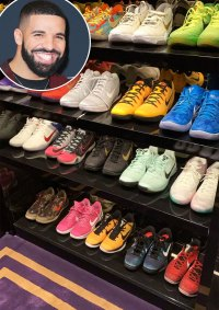 Go Inside Drake's Insanely Good Shoe Closet