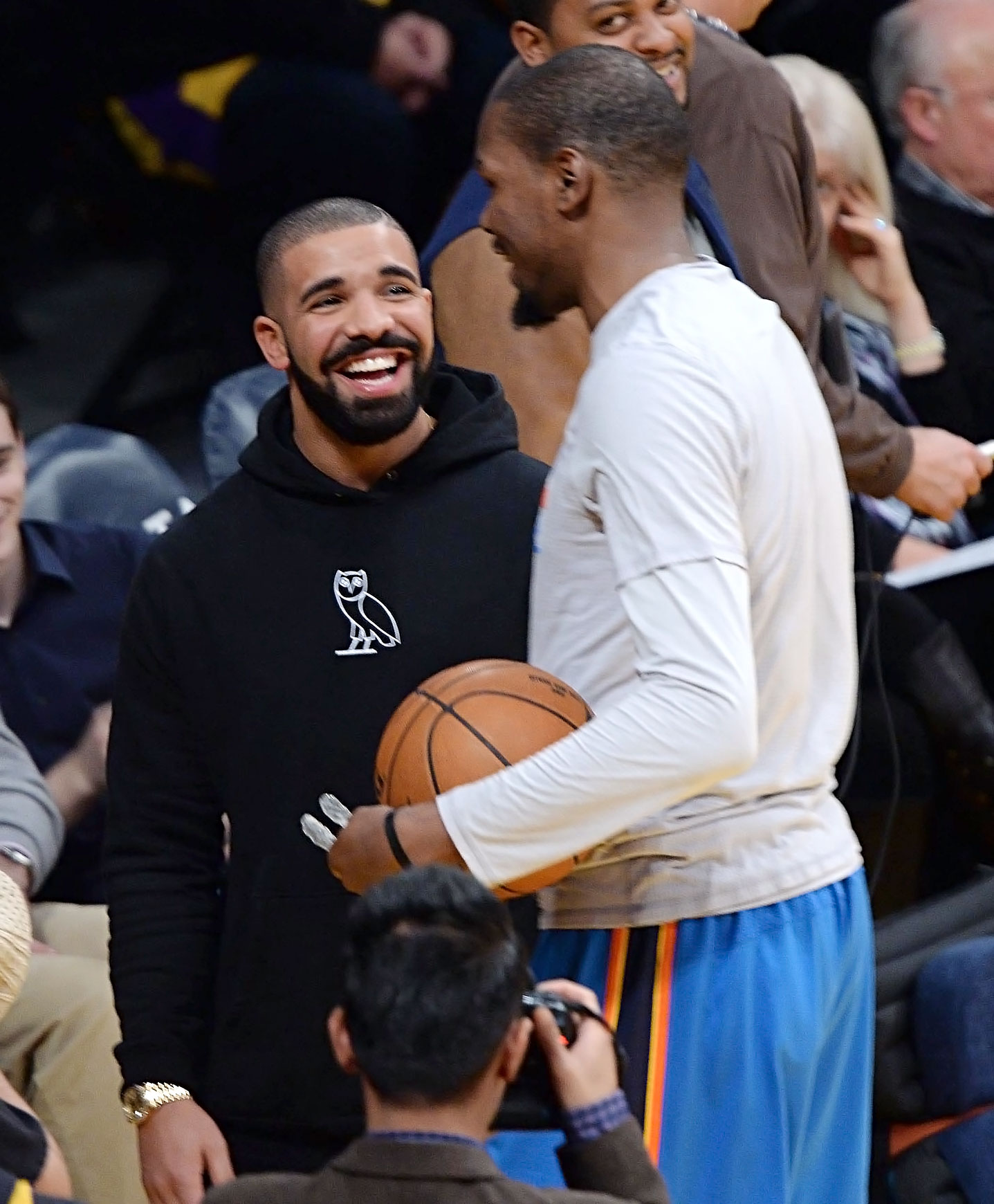 Drake Self-Quarantines After Kevin Durant Hangout: Report