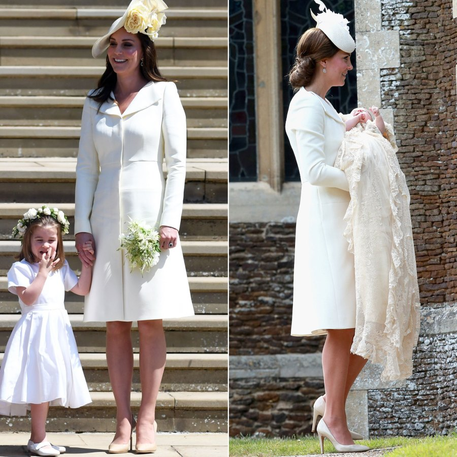 Duchess Kate Middleton's Style Rewears - Yellow Alexander McQueen Dress
