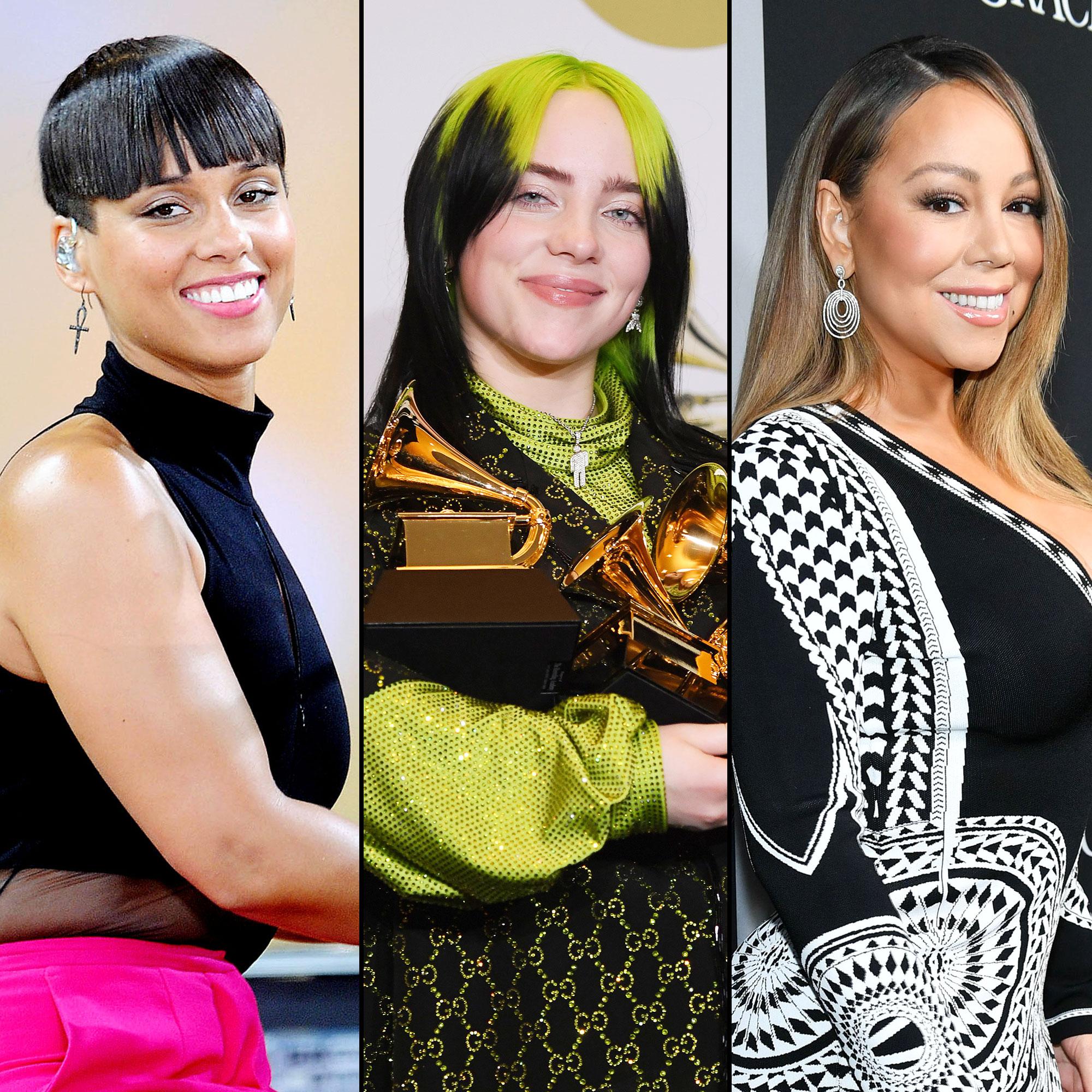 Elton John to Host Star-Studded Coronavirus Benefit Concert with Alicia Keys Billie Eilish and Mariah Carey