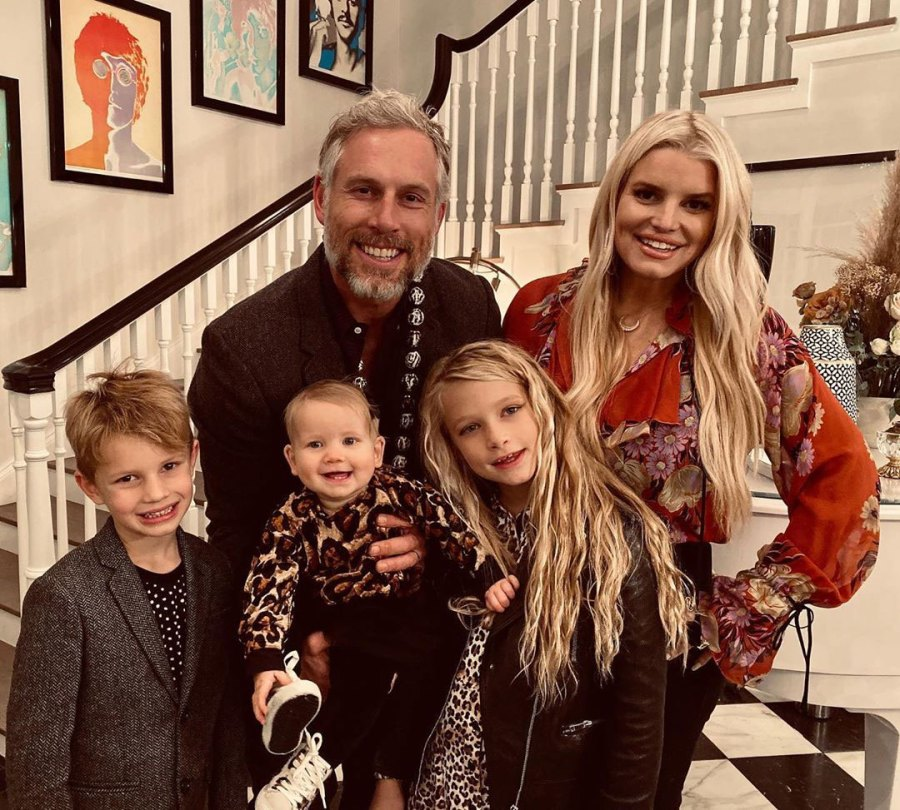 Family Photo Jessica Simpson and Eric Johnson Daughter Birdie Cutest Pics