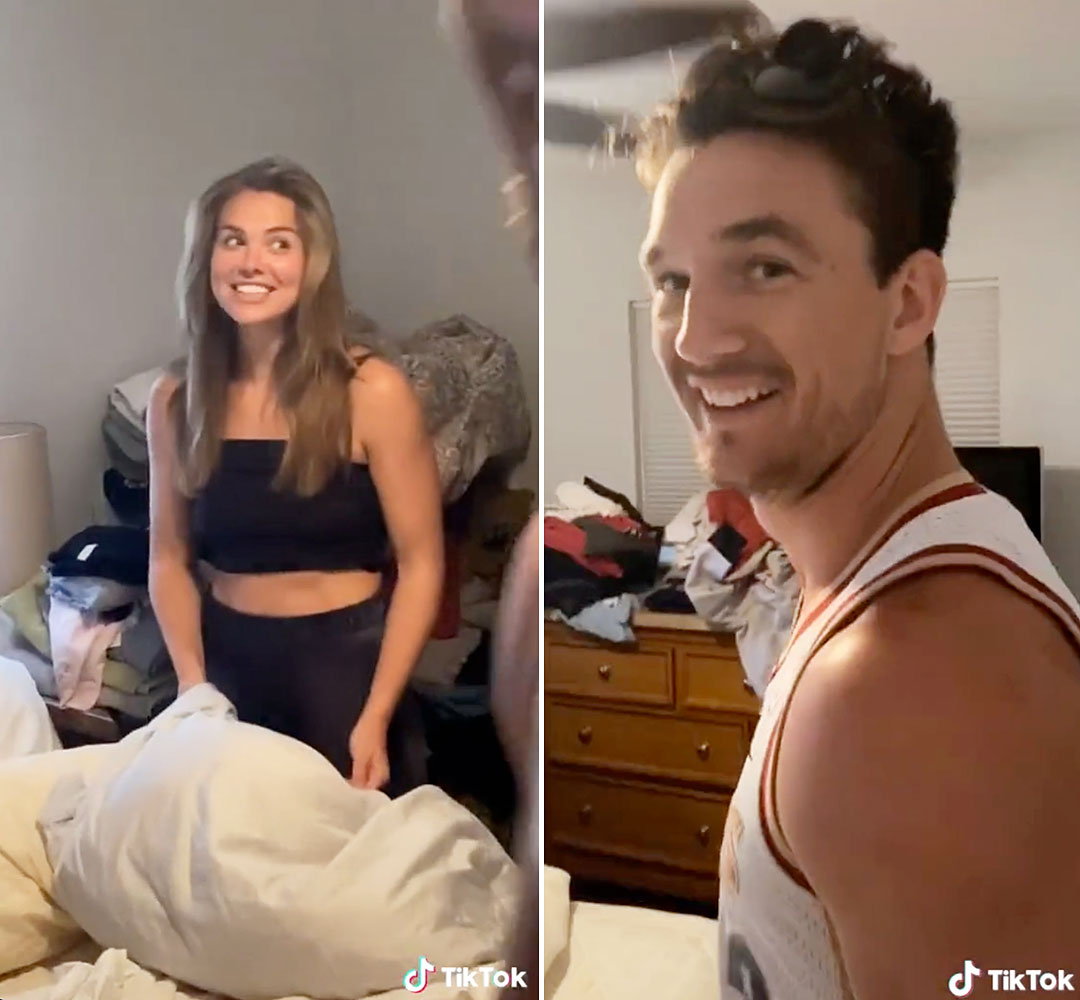 Fans Are Convinced Hannah Brown Is Sleeping in Tyler Camerons Bed