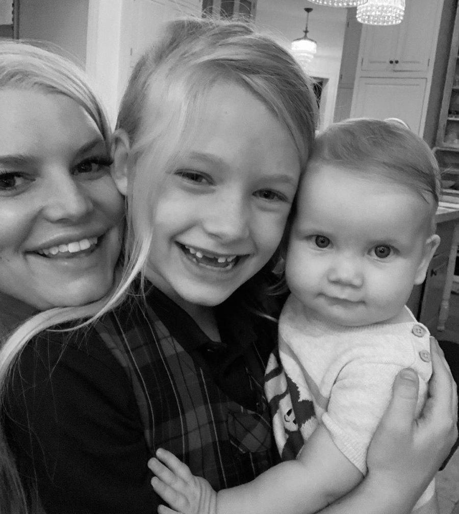 Girl Gang Jessica Simpson and Eric Johnson Daughter Birdie Cutest Pics