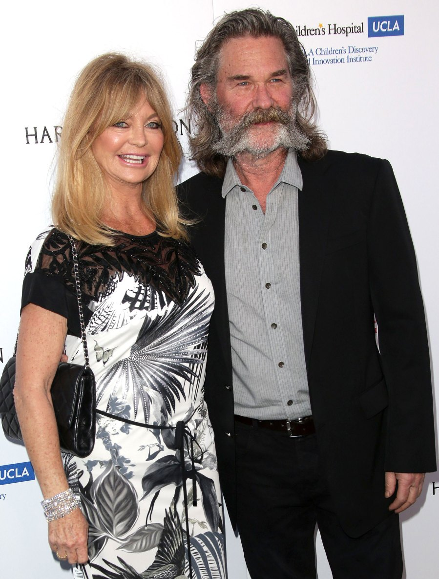 Goldie Hawn Kurt Russell Love Story Throughout the Years
