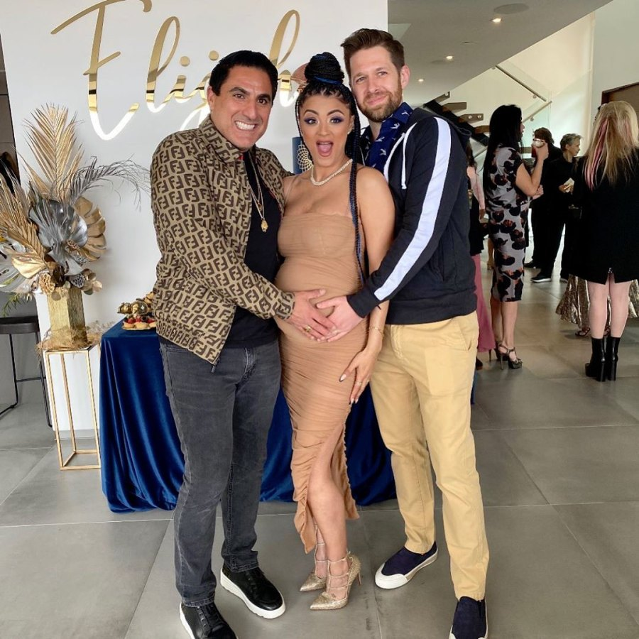 Golnesa Gharachedaghi Reveals Baby's Sex and Name at Baby Shower