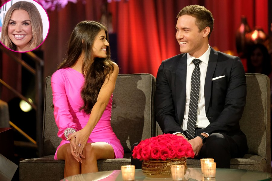 Hannah Brown Posts During Peter Weber's Bachelor Finale