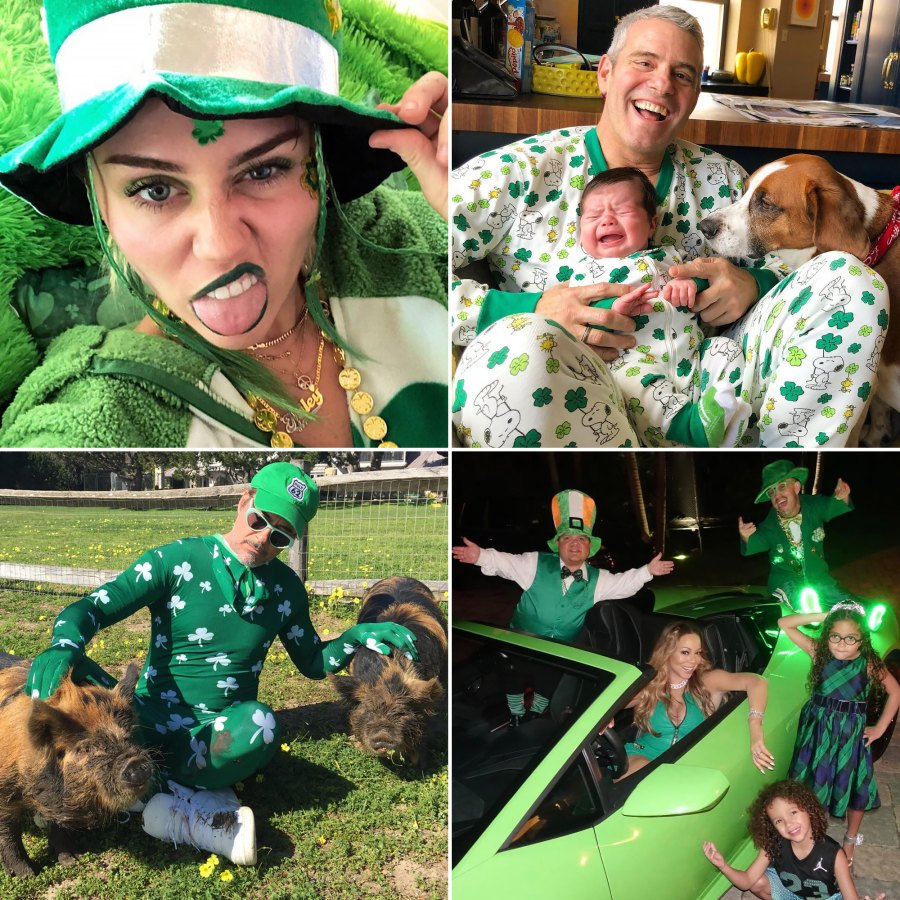 How Stars Have Celebrated St. Patty's Through the Years