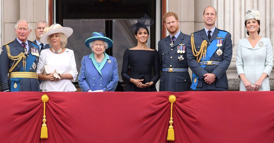 Prince Charles, Prince Andrew, Camilla Duchess of Cornwall, Queen Elizabeth II, Meghan Duchess of Sussex, Prince Harry, Prince William, Catherine Duchess of Cambridge How the Royal Family Has Been Affected by Coronavirus