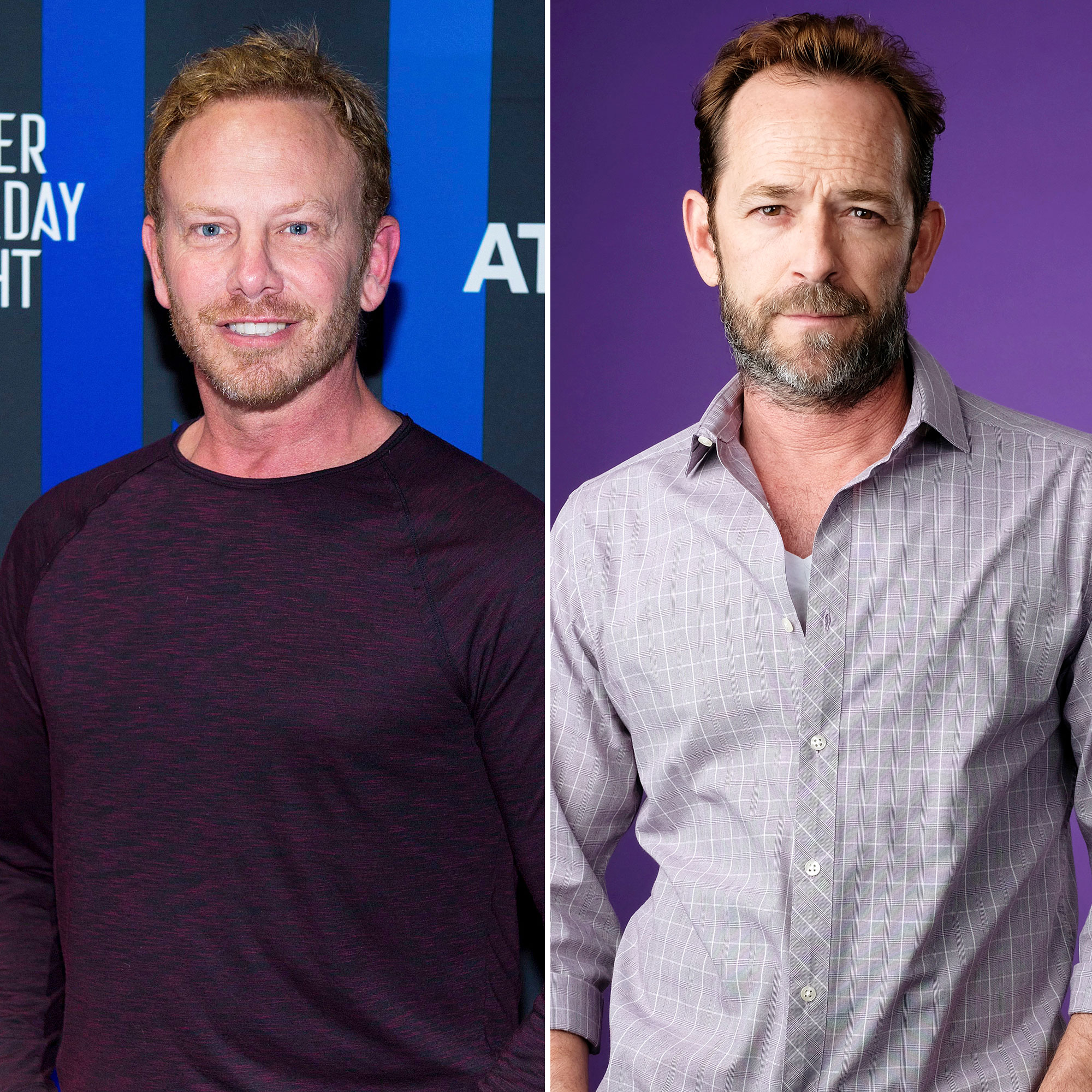 Ian Ziering Pays Tribute to Luke Perry on His One Year Death Anniversary