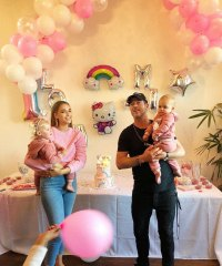 Inside Robin Thicke and April Love Geary Daughters Joint Hello Kitty Birthday Party