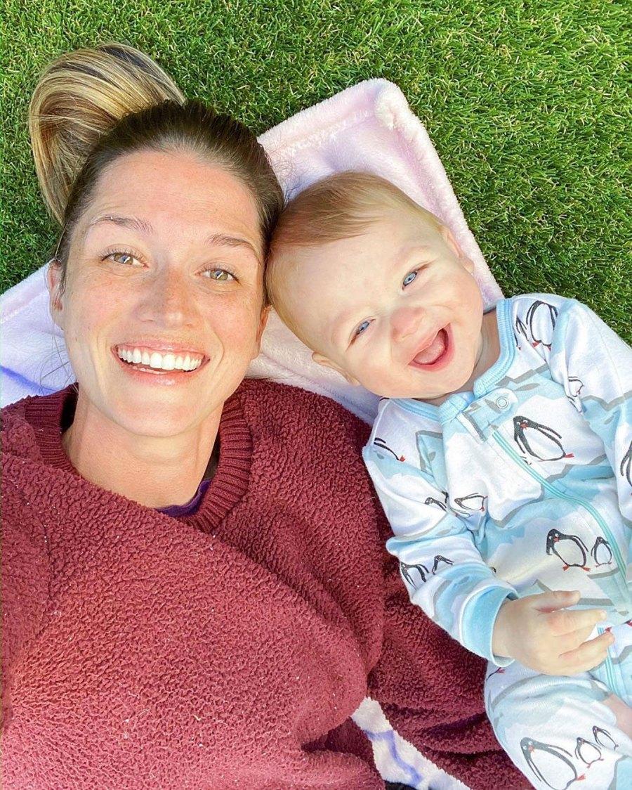 Jade Roper Defends Video of Son Brooks Swinging Amid Coronavirus