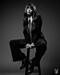 Jameela Jamil Poses Unretouched For Playboy Spring Issue
