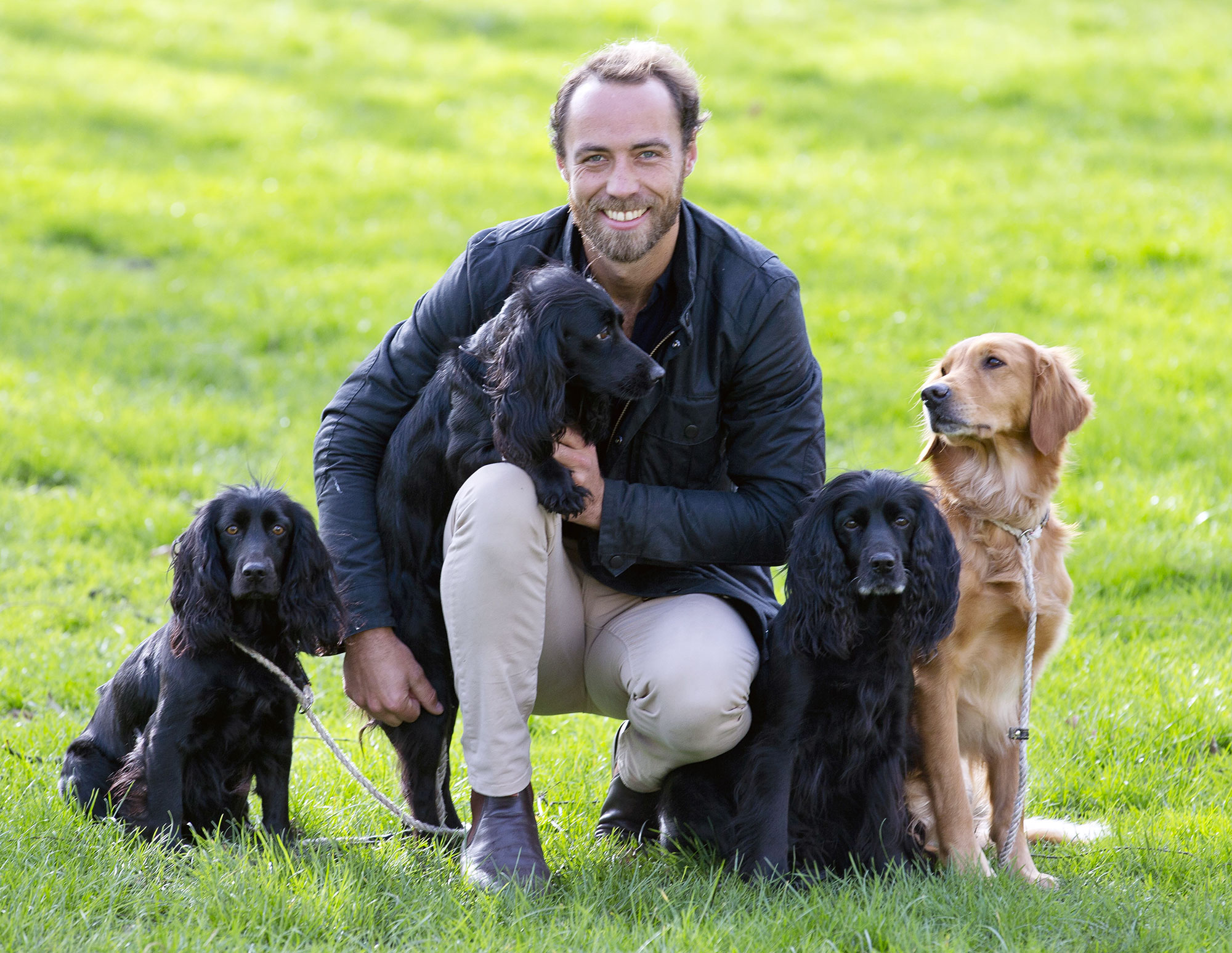 James Middleton Dines With His Beloved Dogs While Social Distancing Amid the Coronavirus Outbreak