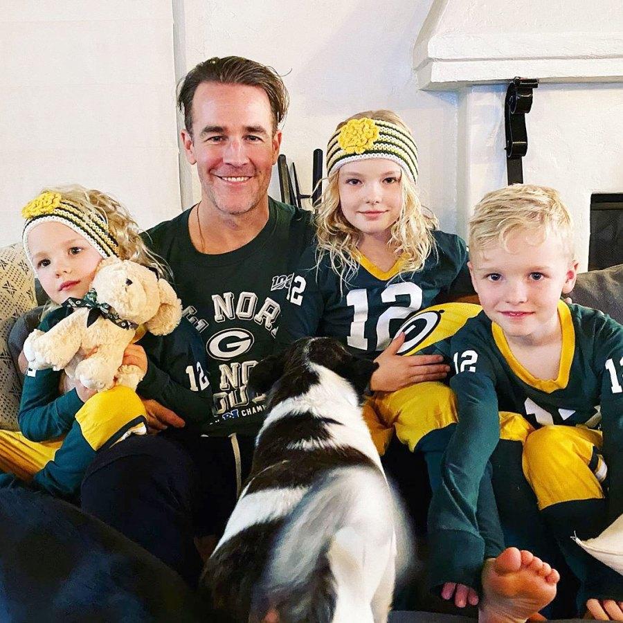 James Van Der Beeks Family Album Super Bowl Sunday