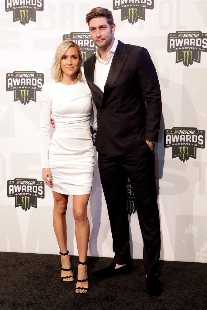 Jay Cutler and Kristin Cavallari NASCAR Cup Series Awards Rocky Year
