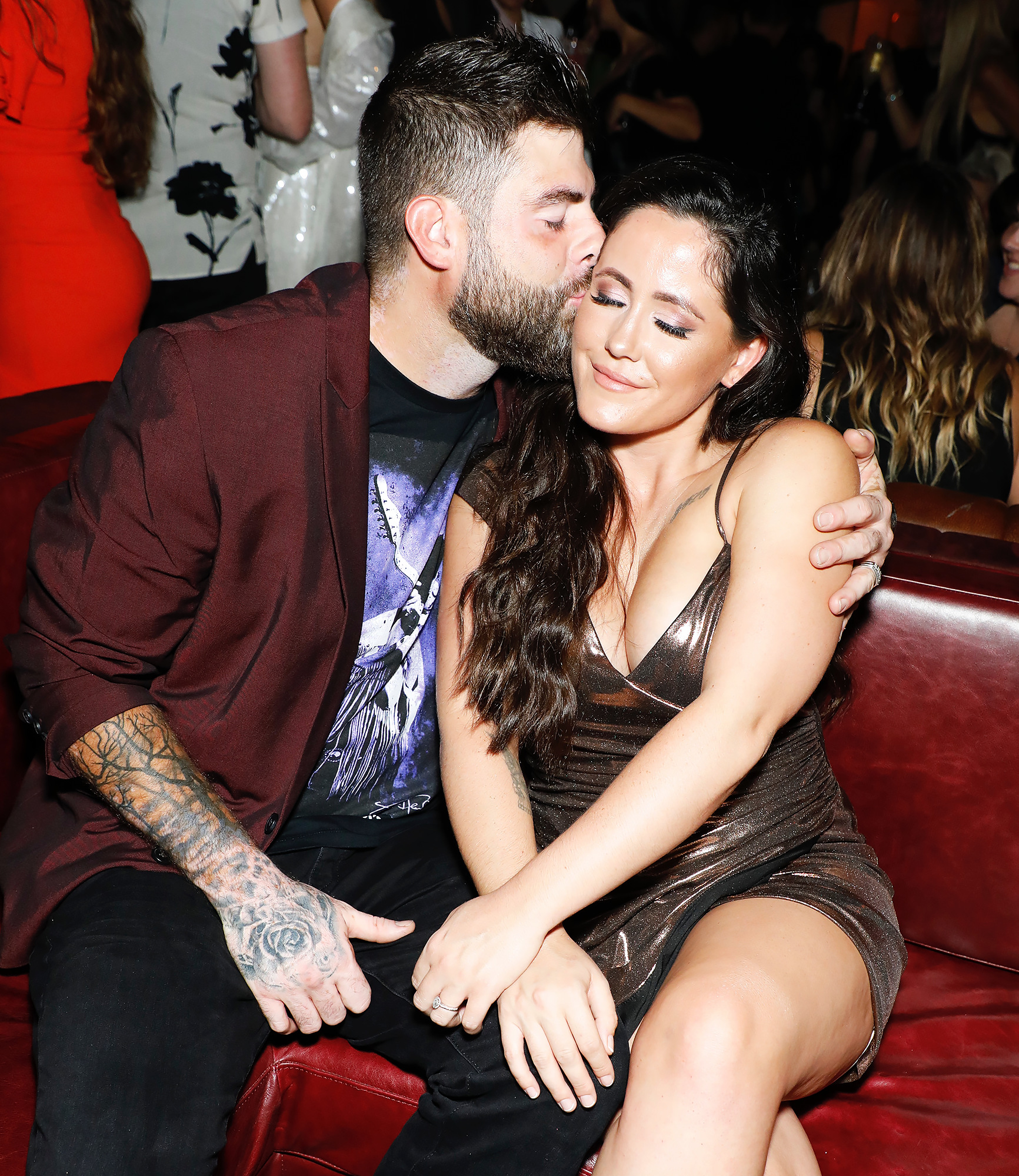 Jenelle Evans and David Eason working things out post split